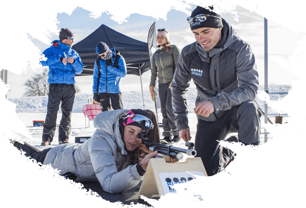 biathlon experience initiation la feclaz animation particulier