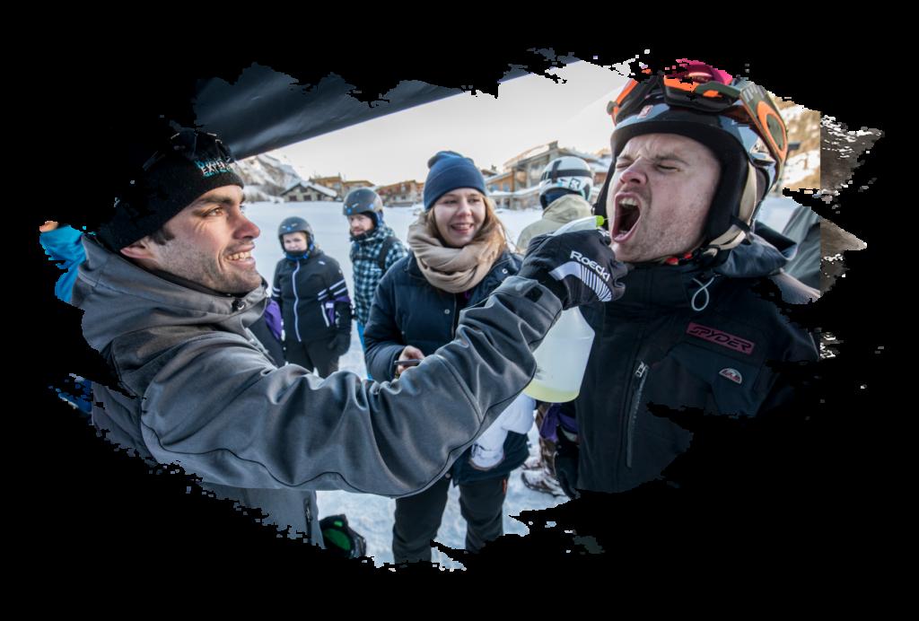 biathlon experience initiation tignes animation grand public